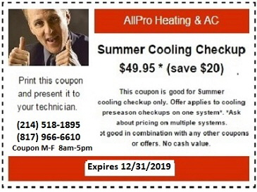 DISCOUNT AIR COONDITIONING COUPON